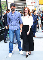 August  07, 2019.Bart Freundlich, Julianne Moore at Build Series to talk about new movie After The Wedding in New York. August 07, 2019  <br /> CAP/MPI/RW<br /> ©RW/MPI/Capital Pictures