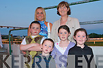 NIGHT AT THE DOGS: Enjoying the Lixnaw GAA Club Night At The Dogs at the Kingdom Greyhound Stadium on Saturday night pictured Cathrine and Maurice Moriarty, Kevin Barry Villias and Anna, Billy, Roisin and Ailbhe Stack, Lixnaw.   Copyright Kerry's Eye 2008
