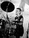 The Clash 1977 Topper Headon.© Chris Walter.