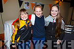 Lauren Bowler, Ciara O'Connor and Jennifer Harty at the Abbeydorney Ladies football Awards Ceremony in the Meadowlands Hotel on Sunday evening.<br /> Ceremony.