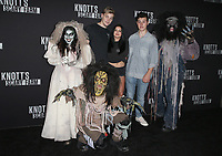 BUENA PARK, CA - SEPTEMBER 29: Levi Meaden, Ariel Winter, Nolan Gould, at Knott's Scary Farm & Instagram's Celebrity Night at Knott's Berry Farm in Buena Park, California on September 29, 2017. Credit: Faye Sadou/MediaPunch