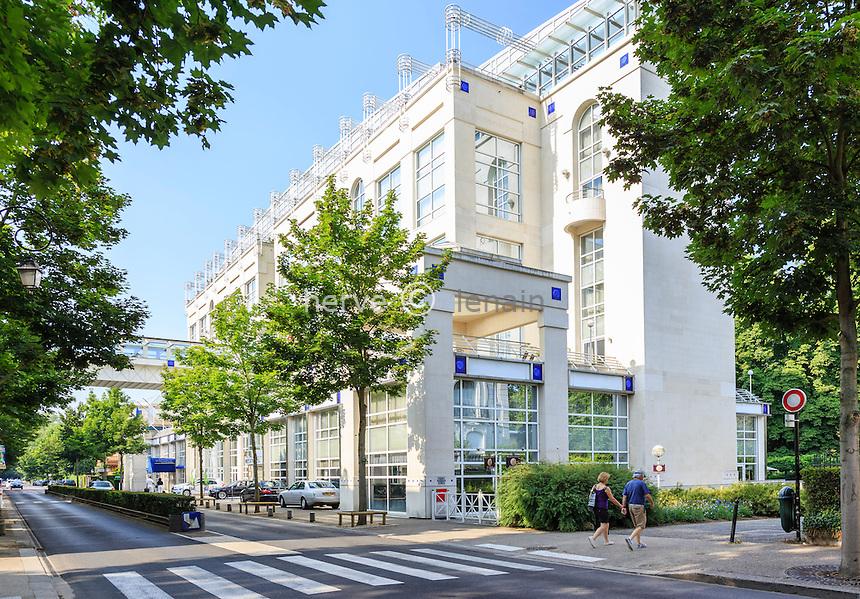 France, Allier (03), Vichy, spa et Hôtel Les Célestins // France, Allier, Vichy, Celestin spa and hotel
