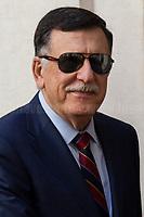 07.05.2019 - Prime Minister of Libya Fayez al-Serraj Met Italian PM Giuseppe Conte at Palazzo Chigi