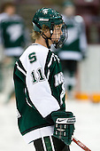 Bryan Lerg (Michigan State - Livonia, MI) is announced as a starter. The University of Minnesota Golden Gophers defeated the Michigan State University Spartans 5-4 on Friday, November 24, 2006 at Mariucci Arena in Minneapolis, Minnesota, as part of the College Hockey Showcase.