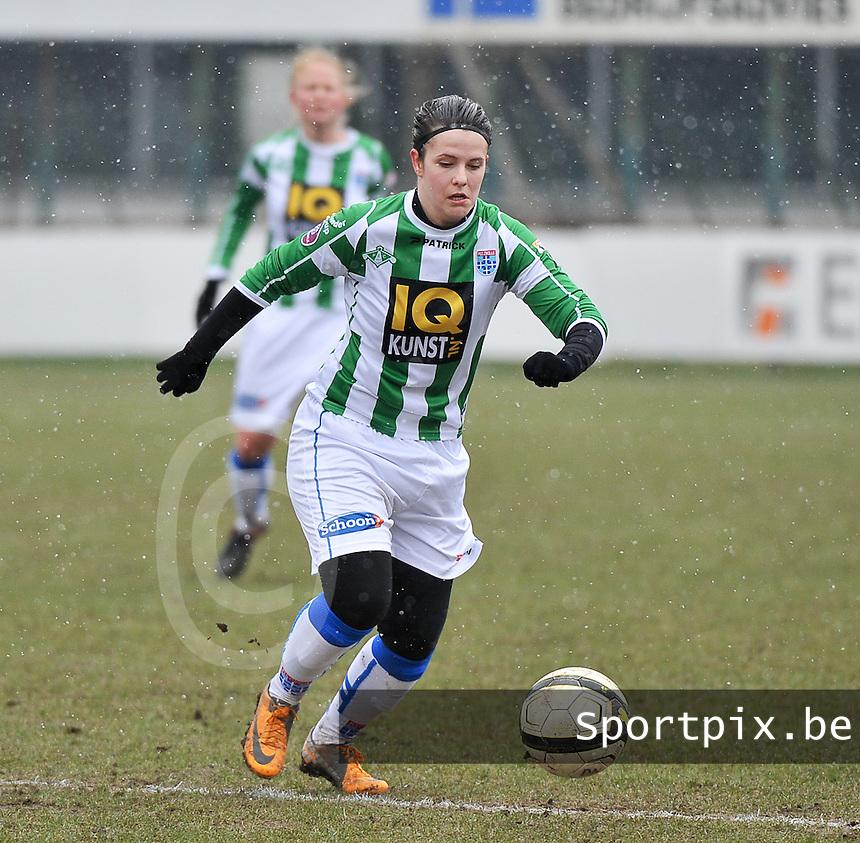 Club Brugge Dames - PEC Zwolle : Maria Laura Aga Martinez.foto DAVID CATRY / Vrouwenteam.be