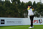 Ambrose Tam of Hong Kong tees off during the 2011 Faldo Series Asia Grand Final on the Faldo Course at Mission Hills Golf Club in Shenzhen, China. Photo by Victor Fraile / Faldo Series