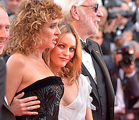 "Valeria Golino and Vanessa Paradis attends the ""The Last Face"" Premiere during the 69th Annual International Cannes Film Festival in Cannes, France, 20th May 2016. Photo Credit: Timm/face to face/AdMedia"