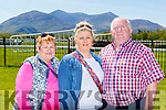 Jospehine, Joanne and Tim Fleming Castleisland at the Killarney Races on Sunday