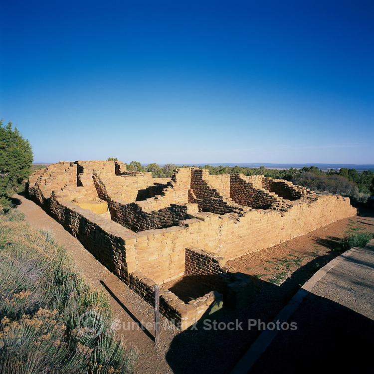 Mesa Verde National Park, Colorado, USA - 'Far View House' at 'Far View Sites', an Ancestral Puebloan aka Anasazi Dwelling and Ruins