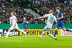 10.08.2019, wohninvest WESERSTADION, Bremen, GER, DFB-Pokal, 1. Runde, SV Atlas Delmenhorst vs SV Werder Bremen<br /> <br /> im Bild<br /> Tor 1:4, <br /> Davy Klaassen (Werder Bremen #30) mit Torschuss und Treffer zum 1:4, <br /> <br /> während DFB-Pokal Spiel zwischen SV Atlas Delmenhorst und SV Werder Bremen im wohninvest WESERSTADION, <br /> <br /> Foto © nordphoto / Ewert
