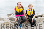 Emily Nic Gearailt and Jeaic McGearailt (An Fheothanach) at the Dingle Regatta over the weekend.