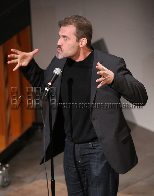 Marc Kudisch.performing at Transport Group Theatre Company's An Evening with Michael John LaChiusa: Boys Night Out at  Playwrights Horizon in New York City