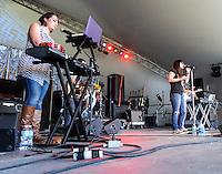 Big History performs at Voodoo 2012 in New Orleans, LA.