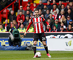 Danny Lafferty of Sheffield Utd in action during the English League One match at Bramall Lane Stadium, Sheffield. Picture date: April 17th 2017. Pic credit should read: Simon Bellis/Sportimage