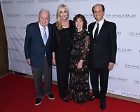 April 11, 2019 - Beverly Hills, California - Richard Riordan, Lori Milken and Michael Milken. Los Angeles Ballet Gala 2019 held at The Beverly Hilton Hotel. Photo Credit: Billy Bennight/AdMedia
