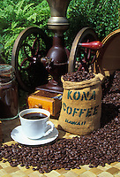 Kona coffee, one of the Big Island's most popular exports