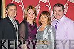 Pictured at the Lixnaw/Finuge Social in Ballyroe Hotel, on Friday night, from left: Joe Flaherty, Noreen Flaherty, Christina Buckley and Stephen Buckley.