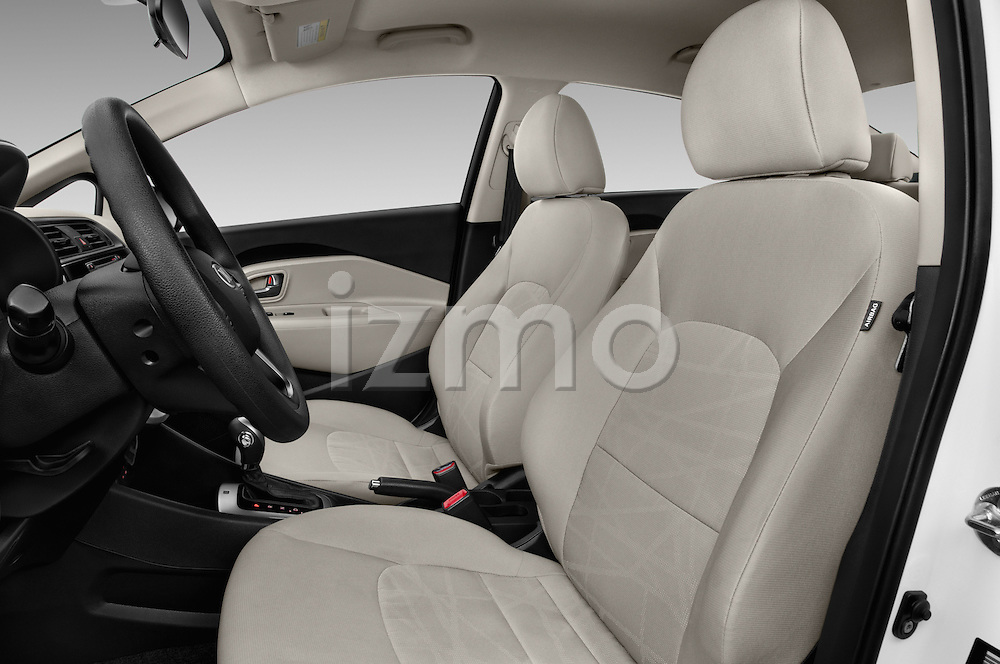 Front seat view of 2017 KIA Rio LX-AT 4 Door Sedan Front Seat  car photos