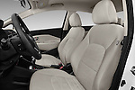Front seat view of 2016 KIA Rio LX-AT 4 Door Sedan Front Seat  car photos