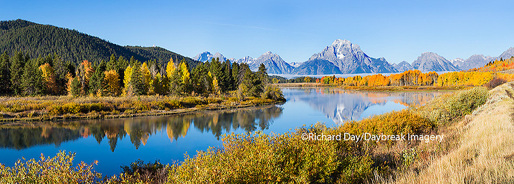 67545-08811 Oxbow Bend in fall, Grand Teton National Park, WY