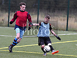 ETP Coaches Kyle Costigan, U-14 Kennedy Cup Squad Connor Bird. Photo:Colin Bell/pressphotos.ie