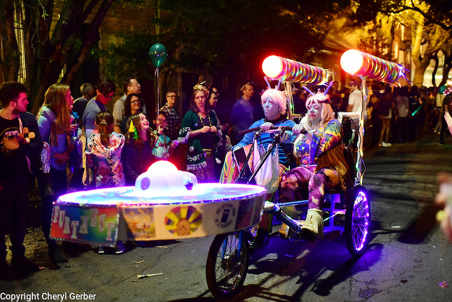 chewbacchus rolls through the Marigny