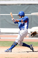 Robinson Chirinos, Chicago Cubs 2010 minor league spring training..Photo by:  Bill Mitchell/Four Seam Images.