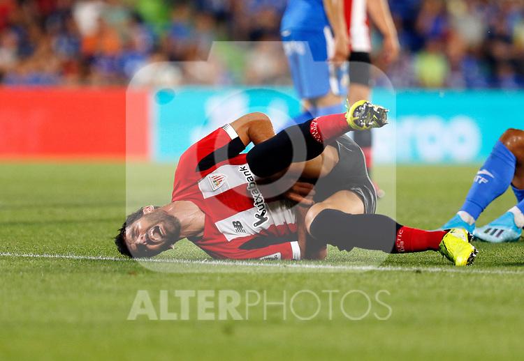 Athletic Club de Bilbao's Raúl García during La Liga match. Aug 24, 2019. (ALTERPHOTOS/Manu R.B.)