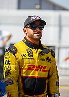 Sep 3, 2017; Clermont, IN, USA; NHRA funny car driver J.R. Todd during qualifying for the US Nationals at Lucas Oil Raceway. Mandatory Credit: Mark J. Rebilas-USA TODAY Sports