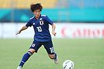 Yuka Momiki (JPN), <br /> AUGUST 21, 2018 - Football / Soccer : <br /> Women's Group C match <br /> between Japan 7-0 Vietnam<br /> at Jakabaring Sport Center Gelora Sriwijaya <br /> during the 2018 Jakarta Palembang Asian Games <br /> in Palembang, Indonesia. <br /> (Photo by Yohei Osada/AFLO SPORT)