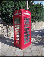 BNPS.co.uk (01202 558833)<br /> Pic: AmberleyPublishing/BNPS<br /> <br /> The Sir Giles Gilbert Scott-designed K6 kiosk.<br /> <br /> The iconic British phonebox has been given a ringing endorsement in a new book charting the expiring institution's fascinating history. <br /> <br /> Aptly titled 'The British Phonebox', the book primarily focuses on the ubiquitous design that's as emblematic to Britain as the black cab, double decker bus and Houses of Parliament. <br /> <br /> Equally interesting are the early chapters, which detail the phonebox's humble 19th century beginnings and the final ones, that bemoan their dwindling numbers <br /> <br /> The 96 page paperback, jointly authored by friends Nigel Linge and Andy Sutton, is published by Amberley and costs &pound;13.49.