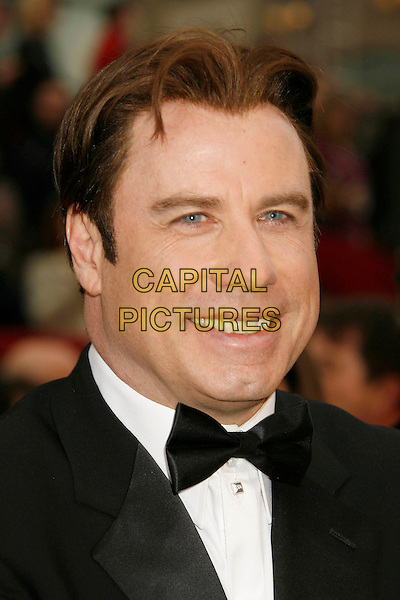 JOHN TRAVOLTA.The 79th Annual Academy Awards - Arrivals held at the Kodak Theatre, Hollywood, California, USA,.February 25th, 2007..oscars red carpet portrait headshot.CAP/ADM/RE.©Russ Elliot/AdMedia/Capital Pictures...
