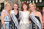ROSE'S FAIR: The 2009 Rose of Tralee Charmaine Kenny with this years Kerry, Dublin and Down Roses at the Rose of Tralee Festival and Jigsaw fundraiser at the Kingdom Greyhound Stadium on Saturday l-r: Kerry Rose Veronica Hunt, Rose of Tralee 2009 Charmaine Kenny, Dublin Rose Niamh Sherlock and Down Rose Gemma Murphy.