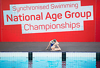 Picture by Allan McKenzie/SWpix.com - 26/11/2017 - Swimming - Swim England Synchronised Swimming National Age Group Championships 2017 - GL1 Leisure Centre, Gloucester, England - Rhea Howard.