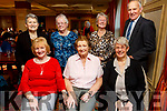Attending the Sliabh Luachra Active Retired NetworkTea Dance in the River Island Hotel in Castleisland on SundaySeated l to r: Bridget O'Shea (Blennerville), Breda Collins and Margaret Boyle from Tralee. Standing l to r: Breda O'Mahoney (Castleisland), Noreen Barry (Currow), Kate Stack (Tralee) and Timmy McCarthy (Castleisland)