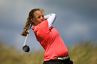 Anna Foster (Elm Park) during the 1st round of the Irish Women's Open Stroke Play Championship, Enniscrone Golf Club, Enniscrone, Co. Sligo. Ireland. 16/06/2018.<br /> Picture: Golffile | Fran Caffrey<br /> <br /> <br /> All photo usage must carry mandatory copyright credit (© Golffile | Fran Caffrey)