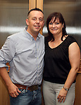 Recently engaged Nicola McKeon and Mark Finegan pictured celebrating in the Thatch...Picture Jenny Matthews/Newsfile.ie