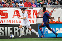 Kenny Cooper (17) of the United States (USA). The United States and Haiti played to a 2-2 tie during a CONCACAF Gold Cup Group B group stage match at Gillette Stadium in Foxborough, MA, on July 11, 2009. .