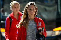 San Diego, CA - Sunday July 30, 2017: Morgan Brian during a 2017 Tournament of Nations match between the women's national teams of the United States (USA) and Brazil (BRA) at Qualcomm Stadium.