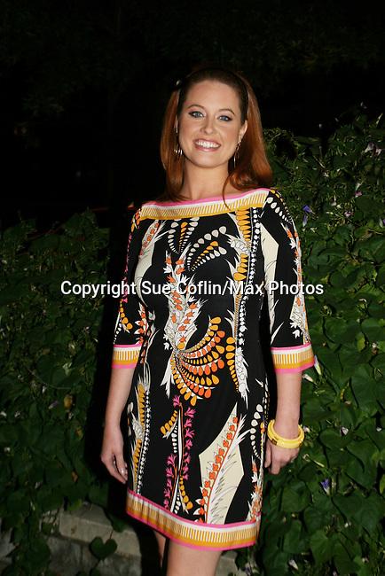 Melissa Archer - OLTL at the ABC Daytime Casino Night on October 23, 2008 at Guastavinos, New York CIty, New York. (Photo by Sue Coflin/Max Photos)