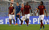 Calcio, Champions League, Gruppo E: Roma vs Bayer Leverkusen. Roma, stadio Olimpico, 4 novembre 2015.<br />