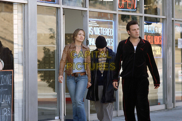 JENNIFER LOPEZ, JUSTIN BARTHA & BEN AFFLECK.in Gigli .Filmstill - Editorial Use Only.CAP/AWFF.www.capitalpictures.com.supplied by Capital Pictures.