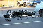 Fatal Motorcycle vs Car Greenway & 40th st