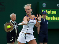 24-06-13, England, London,  AELTC, Wimbledon, Tennis, Wimbledon 2013, Day one, Kiki Bertens<br /> <br /> <br /> <br /> Photo: Henk Koster