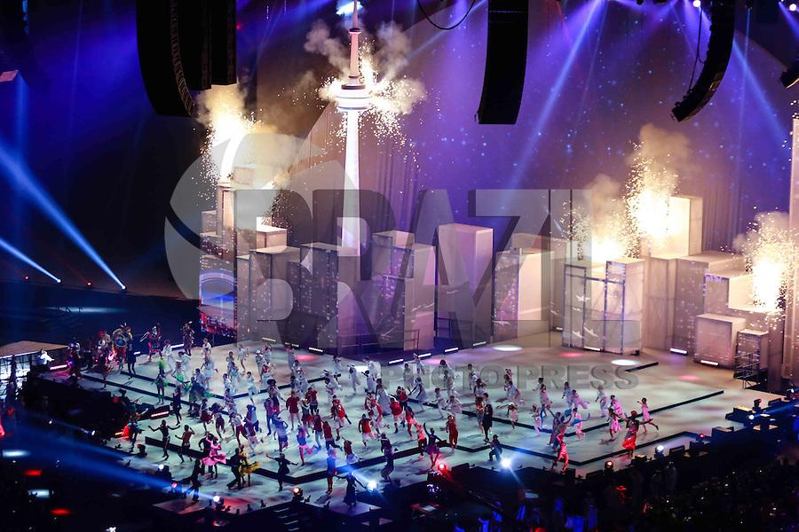 TORONTO, CANADÁ, 26.07.2015 - PAN-ENCERRAMENTO - Cerimonia de encerramento dos jogos Pan-americanos no Rogers Centre em Toronto neste domingo, 26.(Foto: Vanessa Carvalho/Brazil Photo Press)