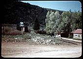D&amp;RGW # 498 K-37 on Altmont Bridge.<br /> D&amp;RGW  Altmont, CO  Taken by Maxwell, John W.