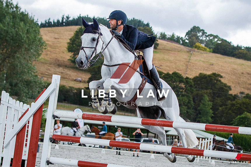 CLASS 3: Fieldline Horse Floats Horse 1.25m. 2020 NZL-Fieldline Horse Floats Brookby Showjumping Summer GP Show. Papatoetoe Pony Club. Auckland. Saturday 8 February. Copyright Photo: Libby Law Photography