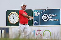 Andy Sullivan (ENG) during Round Two of the 100th Open de France, played at Le Golf National, Guyancourt, Paris, France. 01/07/2016. Picture: David Lloyd | Golffile.<br /> <br /> All photos usage must carry mandatory copyright credit (&copy; Golffile | David Lloyd)