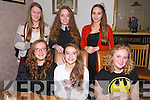 Emma Carroll from Riverside Drive, Tralee celebrating her 14th Birthday with friends at Bella Bia on Saturday.  Front l-r Christina Fitzgerald, Emma Carroll, Elena Murray.  Back l-r  Emily Molloy, Sarah Ferris, Ioana Ignatova.
