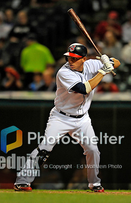 12 September 2008: Cleveland Indians' infielder Asdrubal Cabrera in action against the Kansas City Royals at Progressive Field in Cleveland, Ohio. The Indians defeated the Royals 12-5 in the first game of their 4-game series...Mandatory Photo Credit: Ed Wolfstein Photo